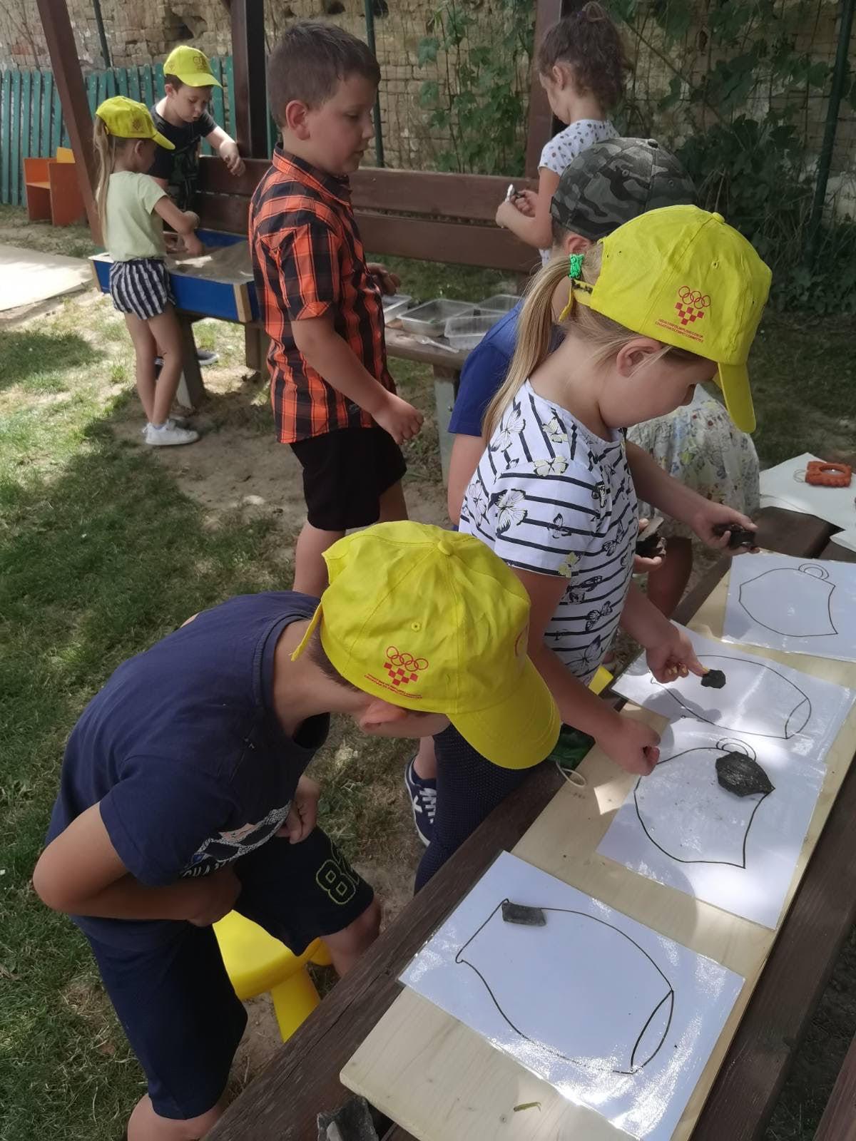Djeca Područnog objekta Sotin u projektu Vučedolci